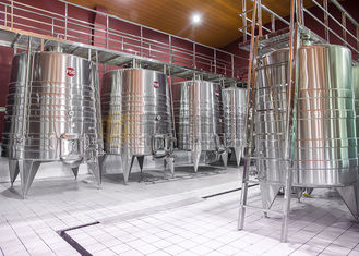 China Stainless Steel Commercial Microbrewery Equipment For Fruit Wine Making supplier