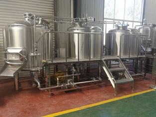 China Steam Heating 1000l Beer Production Equipment Highly Automatic / Manual Operation supplier
