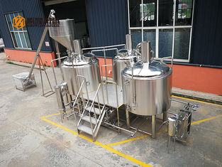 China 10 Bbl Industrial Beer Brewing Equipment , Mini Beer Brewery Equipment supplier