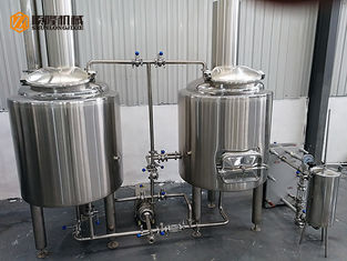 China Adjustable Power Commercial Beer Brewing Systems 200l Stainless Steel Material supplier