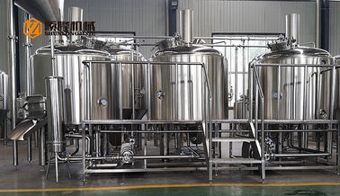 China Commercial Micro Beer Brewing Equipment , 10 BBL Beer Brewery Equipment supplier
