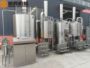 China 1000 L SS Micro Beer Brewing Equipment High Efficiency CE Certification supplier