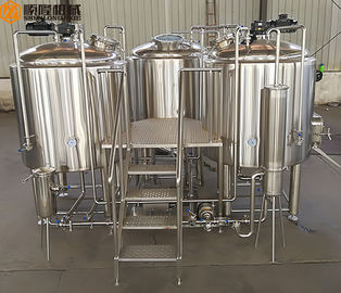 China 10HL Brewhouse Equipment Electricity / Steam / Gas Heating For Beer Brewing supplier