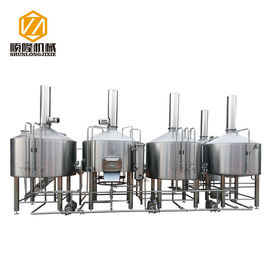 China 2000 L Large beer Scale Brewing Equipment For Brewery Complete Production Line supplier