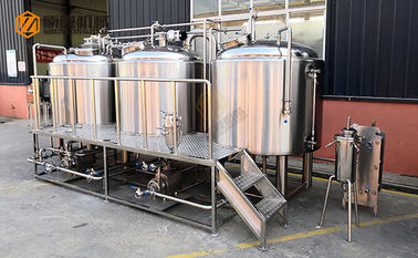 China Electrical Power Beer Production Equipment With Stainless Steel Material supplier