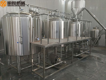 China 1000L Semi Automatic Stainless Steel Beer making Equipment , beer brewing Equipment supplier