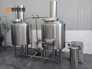 China Small Stainless Steel Brewing Equipment 100L To 200L For Pub Brewery supplier