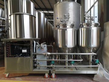 China CE ISO 50L Professional Beer Brewing Equipment For Home Brew Unit Machine supplier