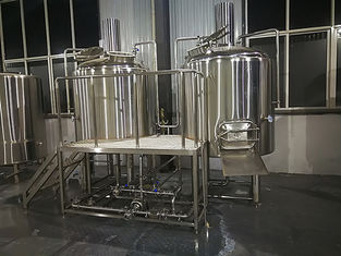 China Mini Craft Brewing Equipment With Hot Water Tank , Fermentation Equipment supplier