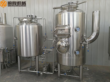 China CIP System CE Passed Beer Brewing Equipment For Brewpub And Restaurant supplier