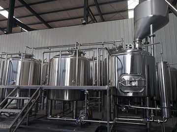 China 1500L Three Vessels Brewhosue Beer Brewing Equipment System Wiht Hopper supplier
