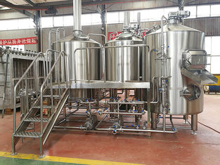 China Nanobrewery Beer Making Equipment Stainless Stain Material 2 Vessels Brewhouse supplier