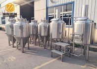 China Electric Heating Small Brewery Equipment 200L With 8 Fermentation Tanks factory