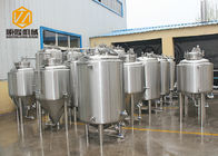 China Double Wall Bright Beer Tank 500L Top Manhole With CE Certificated factory