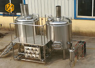 China 0.55kw Raker Small Brewery Equipment , 500L Mini Micro Brewing Systems company