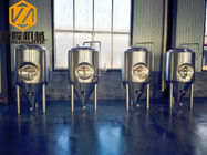 China IPA STOUT Hotel / Home Beer Brewing Equipment With 2 Sanitary Wort Pump factory