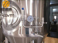 China Steam Heated Large Beer Brewing Equipment , Three Vessels 15HL Beer Making System factory
