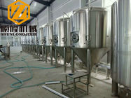 China 30HL Conical Beer Fermenter 304 Material Pressure Tank 72 Degree Cone Angle factory