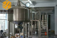 China Stainless Steel Brewery Production Line 3500L Auto S7200 PLC Siemens Control factory