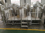 China 1000L Brewhouse Micro Beer Brewing Equipment Stainless Steel 304 / 316 Material factory
