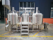 China 10 BBL Microbrewery Equipment Steam / Gas Heated Commercial Turn Key factory