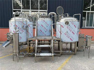 China Automatic Beer Production Line 30hl Four Vessels Brewhouse With Plc Control factory