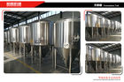 China Glycol Jacketed Beer Fermentation Tanks 500l Capacity Food Grade Ss Material factory