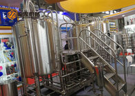 500l Mini Beer Brewery Equipment	, Two Bodies Beer Fermentation Equipment
