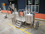 China 10 Bbl Industrial Beer Brewing Equipment , Mini Beer Brewery Equipment company