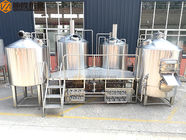 China 2000 Liter Beer Brewing System , Stainless Steel Beer Making System PLC Avaiable factory