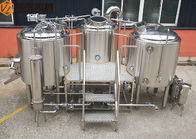 China Stainless Steel Beer Making System 500L Capacity Brewhouse Steam Heating factory