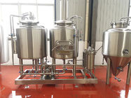 China 200L Microbrewery Equipment Electrical Heated Small Brewery Equipment factory