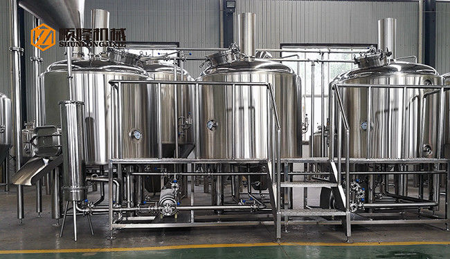 Commercial Micro Beer Brewing Equipment 10 Bbl Beer