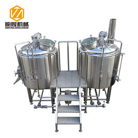 China Ale , larger beer Commercial Brewing Equipment 2 Vessels 5HL Industrial Brewing Equipment distributor