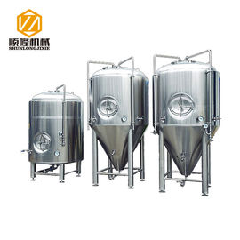 China Dish Shape Stainless Steel Brewing Tanks Customized For Pub Brewery distributor