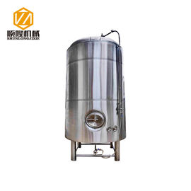 China 500L Stacked Up Bright Beer Tank , SS304 / 316 Brewing Brite Tank Welded Shell distributor