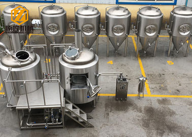 China Customized Beer Brewing Equipment , Easy Operate Microbrewery Brewing Equipment factory