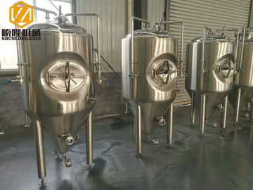 China 5HL SS Brewing Equipment Electric / Steam Heating 2-6 Brew / Week ISO Certified factory