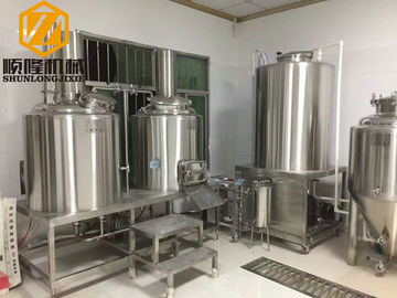 China Mini Size Stainless Steel Beer Brewing Equipment Conical Fermenters CE Approved distributor