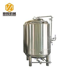 China 1000L Stainless Steel Bright Beer Tank Carbonation Stone Servicing Tank distributor