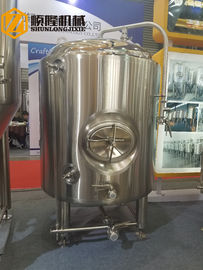 China Bright Beer Brewery Fermentation Tanks , 1000l Beer Stainless Steel Tank distributor