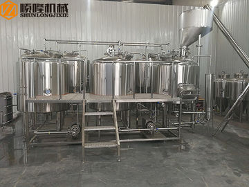 China Electric Steam Or Electircal Heating Home Brewing Equipment With Malt Hopper factory