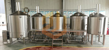 Steam Heating Micro Beer Brewing Equipment 3000L 4000L 5000L For Microbrewery