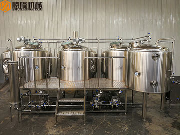 China Simple Clean Beer Brewing System 2B Finished Surface With 1000L Brite Tank distributor