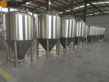 China 500L Stainless Steel Fermentation Tank Small Conical Fermenter 60 Degree Cone distributor