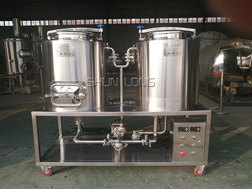 China Electrical Heating 100L Micro Beer Brewing Equipment For Home Brewing Simple Machine distributor