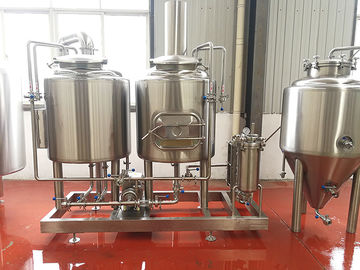 China 200L Microbrewery Equipment Electrical Heated Commercial Brewing Equipment distributor