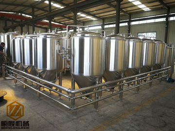 China 300L Top Manhole Conical Beer Fermenter 60 Degree Cone stainless steel material distributor